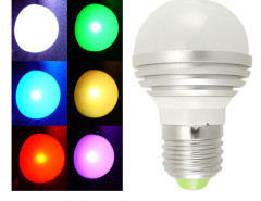 LED Color Changing Light Bulb with Remote Controller Chinavasion Wholesale Electronics & Gadgets electronics online store China