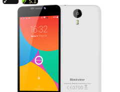 Blackview BV2000 Smartphone- 5 Inch HD Screen, 4G, Quad Core MTK6735P, Android 5.1, Smart Wake, Gesture Sensing (White) Chinavasion Wholesale Electronics & Gadgets electronics online store China