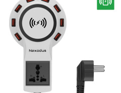 Nexodus LifeLine 8 Port USB Charging Station- Qi Wireless Charging Pad and Free USB-C Cable (White) Chinavasion Wholesale Electronics & Gadgets electronics online store China